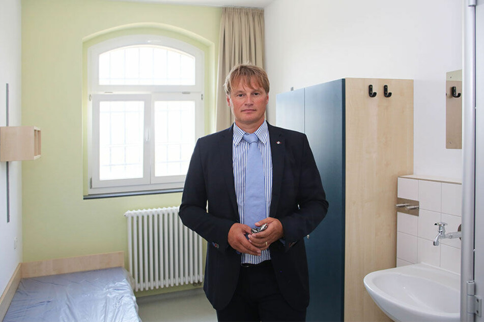 Oliver Schmidt leitet die JVA in Zeithain.