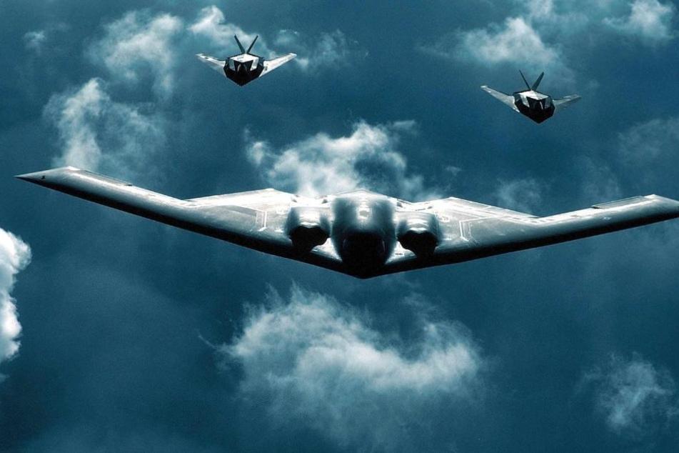 """Die sogenannten """"Stealth Fighter"""" können unter dem feindlichen Radar hindurchfliegen."""
