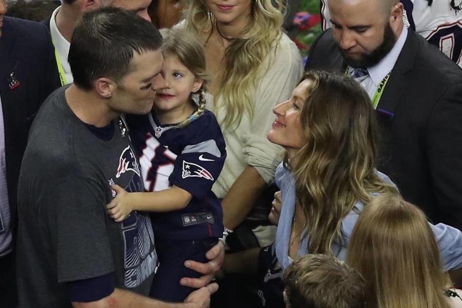 Bradys Ehefrau und Super-Model Gisele Bündchen hatte nach der Partie genau die richtigen Worte für ihren Superstar übrig.