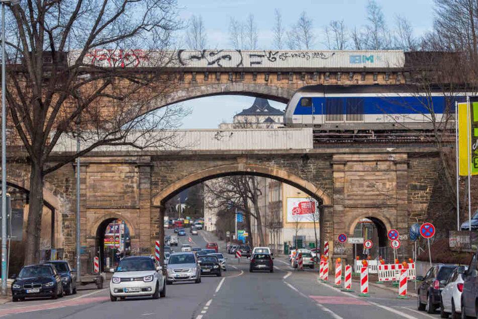 So soll die Viadukt-Sanierung in Chemnitz laufen