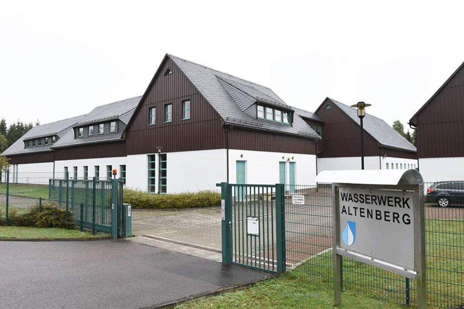 Anlaufstelle für viele, die sonst auf dem Trockenen säßen: das Altenberger Wasserwerk.