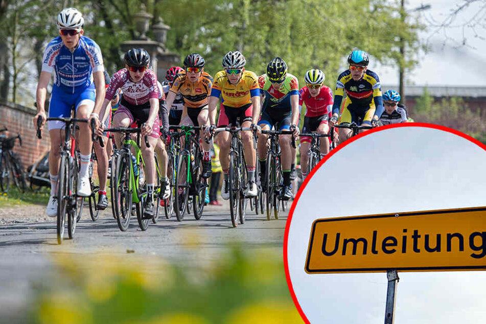 Rund um die Wettkampfstrecke kommt es zu einigen Einschränkungen auf Leipzigs Straßen.