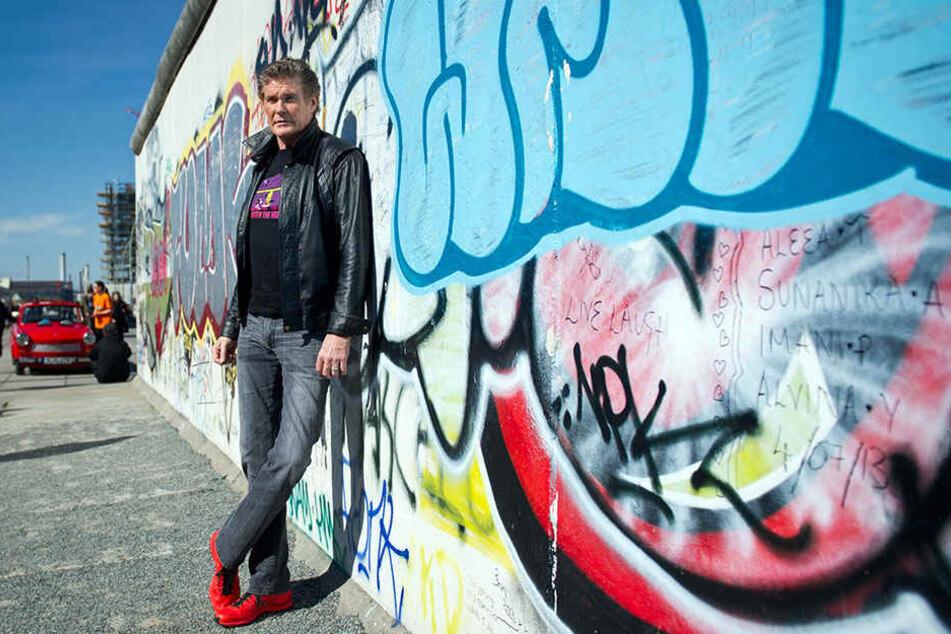 Luxus-Gebäude an der Berliner Mauer? Nicht mit David Hasselhoff!
