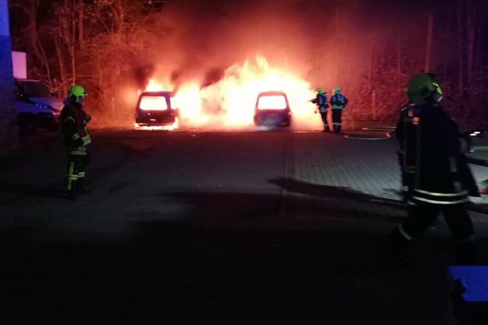 Autos abgebrannt: Rechter Brandanschlag auf das Annaberger Theater?