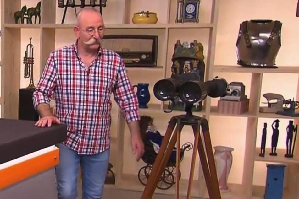 """Horst Lichter (56) staunte über ein Fernglas. """"Das war mein Kindheitswunsch"""""""