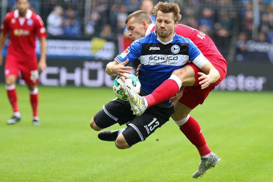 Auch der Einsatz von DSC-Spieler Julian Börner zahlte sich am Ende nicht aus.