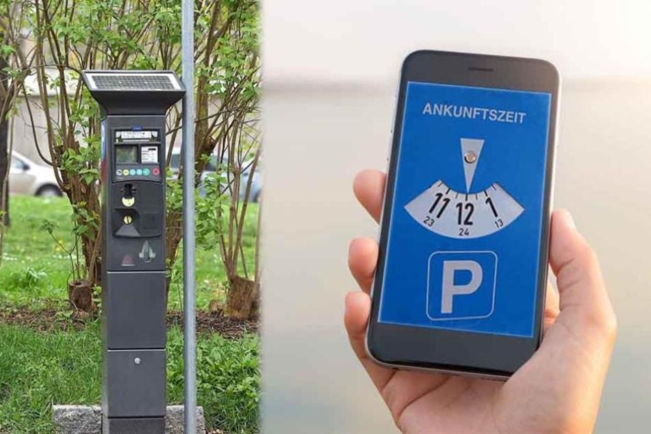 Kann man sein Parkticket in Dresden bald per Handy bezahlen?