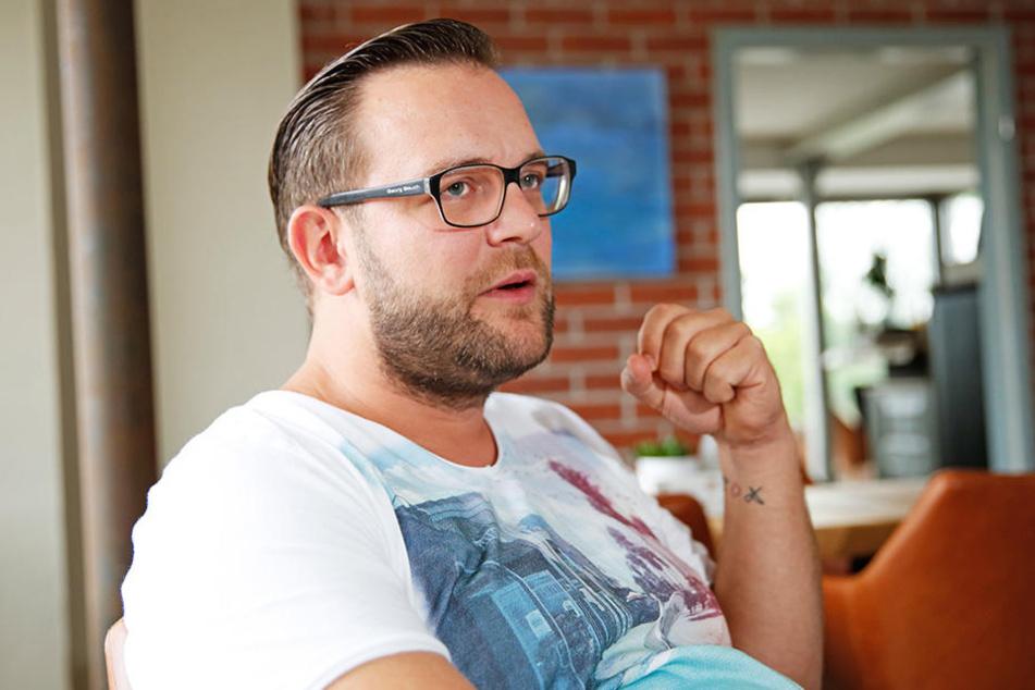 """Der Inhaber der """"Hafenmeisterei"""" fordert eine """"gastronomische Revolution""""."""