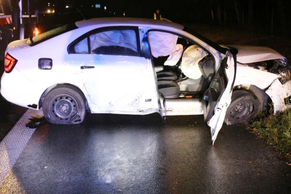 Geisterfahrer sorgt auf A93 für heftigen Unfall: Alkoholpegel ist schockierend