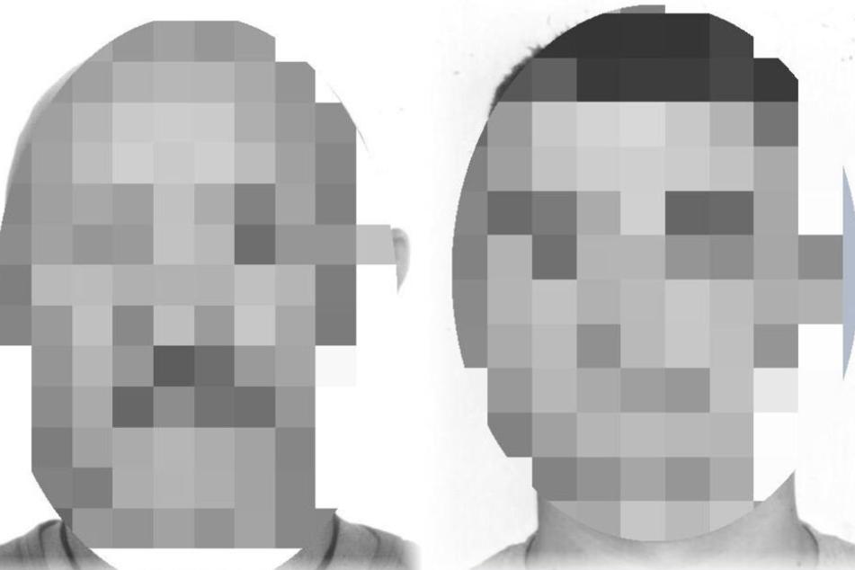 Mit einem Foto suchte die Polizei nach den beiden Männern.