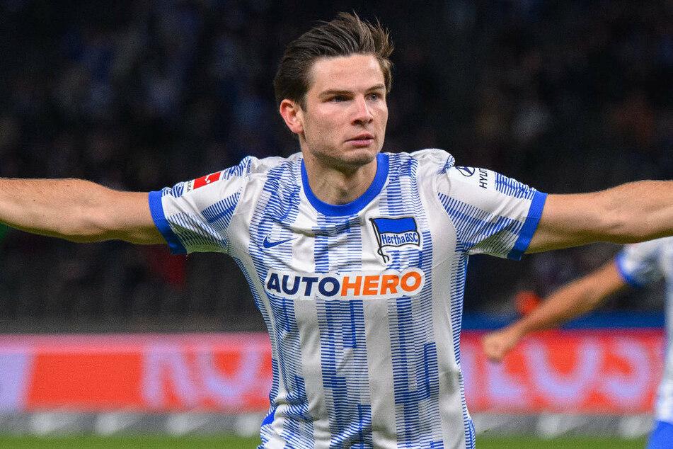 """Jurgen Ekkelenkamp (21) hat es bei seinem Bundesliga-Debüt für Hertha BSC gleich in die Elf des Spieltags beim """"Kicker"""" und bei der Sportschau geschafft."""
