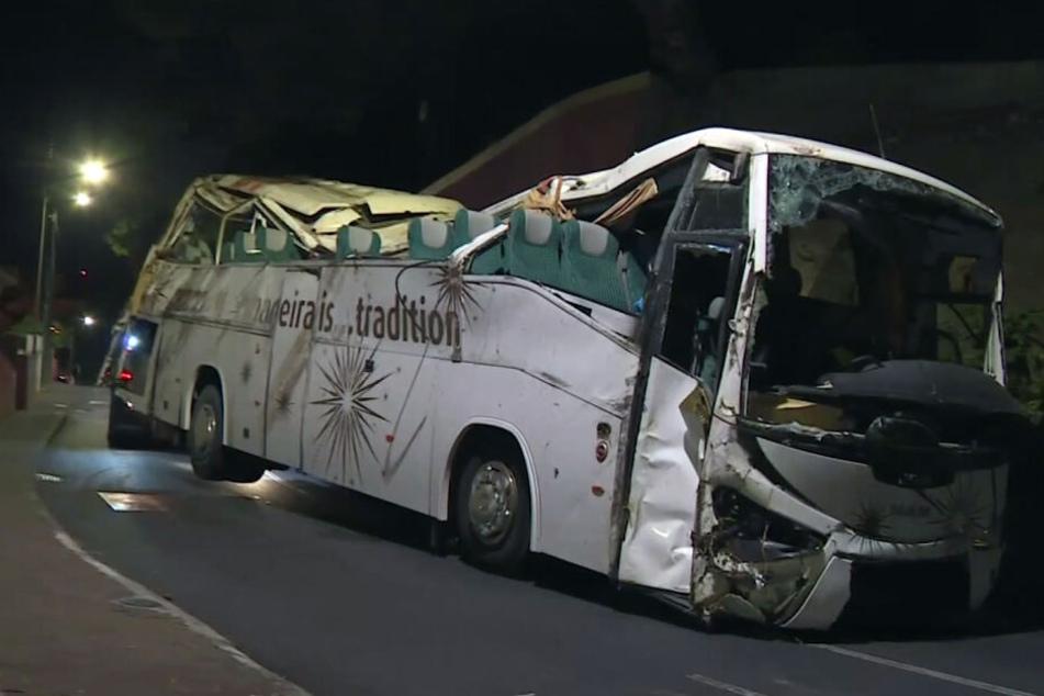 Bei dem tragischen Busunglück auf Madeira am 17. April starben 29 Menschen.