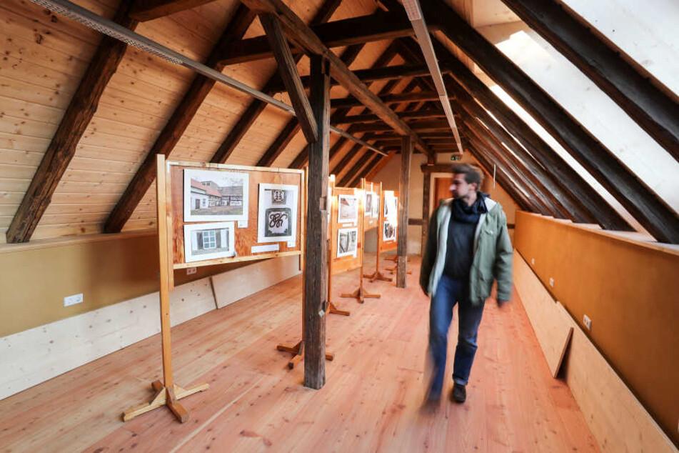 Ein Teil der historischen Wassermühle in Neukirchen ist schon saniert.