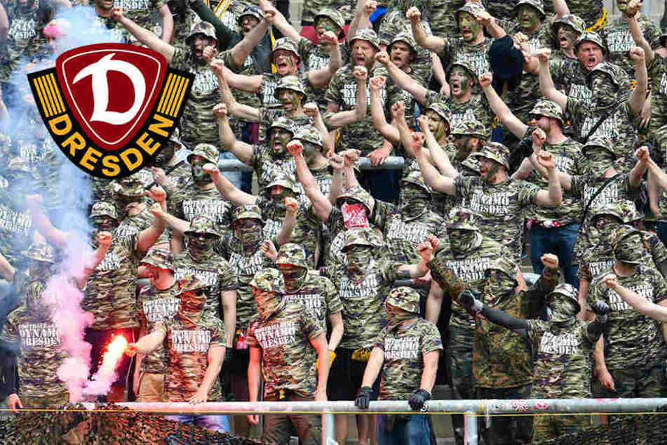 """""""Football Army Dynamo!"""" DFB legt Aufmarsch als Kriegserklärung aus"""