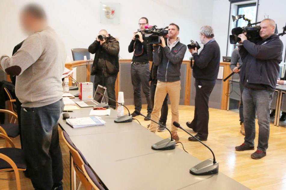 Der Angeklagte Axel G. stand bereits Anfang 2017 vor Gericht.
