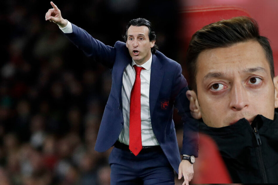Nach Niederlage gegen Eintracht Frankfurt: Özil-Klub Arsenal entlässt Trainer Emery!