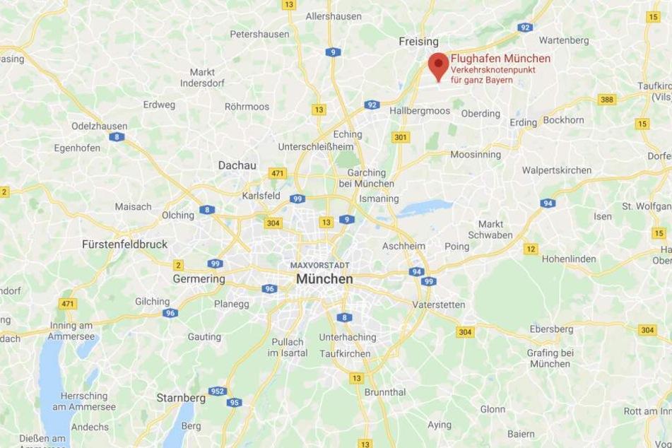 """Am Flughafen München kommt es wegen des Orkantiefs """"Sabine"""" zu Problemen."""