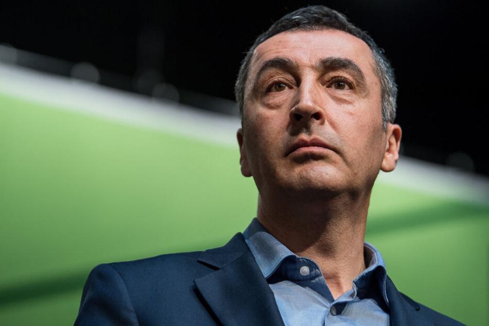 Will an die Spitze der Fraktion: Cem Özdemir.