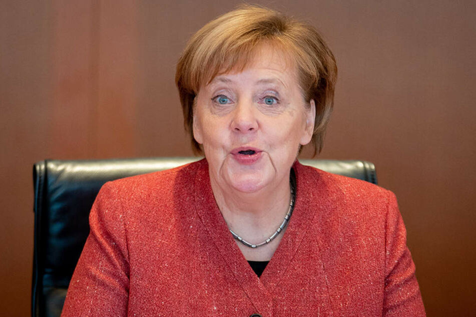 Auch Bundeskanzlerin Angela Merkel (CDU) nahm an der Sitzung des Bundeskabinetts im Bundeskanzleramt am 19. Dezember 2018 teil.