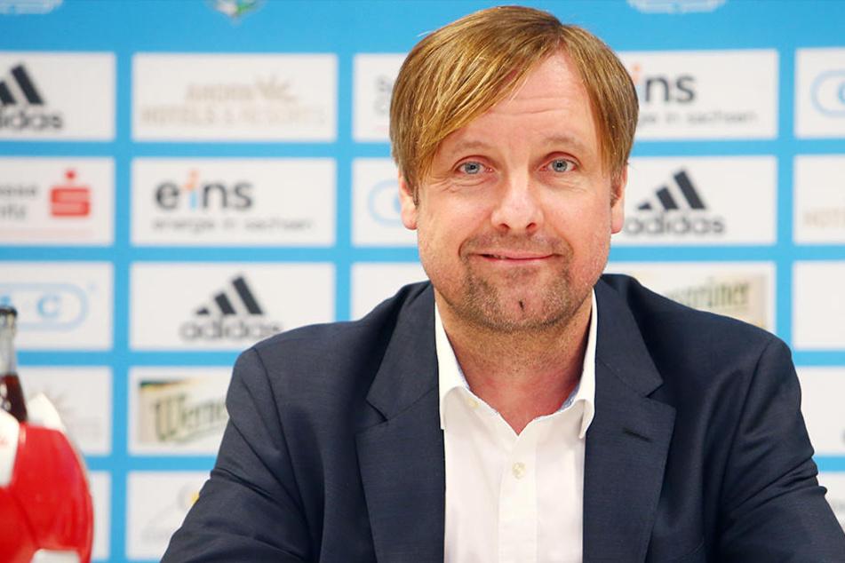 Trotz Lizenz für die 3. Liga will Vorstandsmitglied Stefan Bohne (noch) nicht von einer Rettung des CFC sprechen.