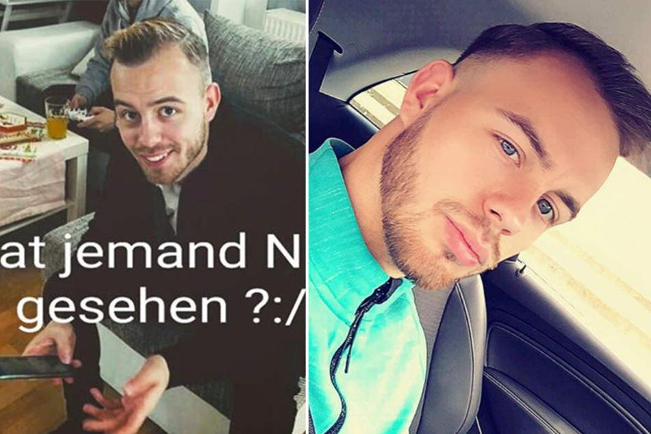 """Eine Woche war der ehemalige Junioren-Bundesligaspieler Nico Franke vermisst. Dann wurde er gefunden - in """"keinem guten Zustand""""."""