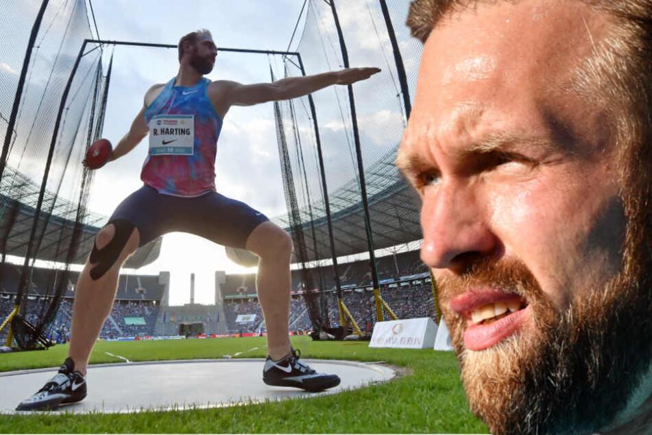 Für Diskus-Olympiasieger Robert Harting platzt ein großer Traum