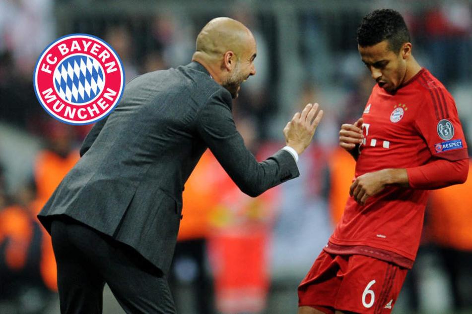 Reunion mit Guardiola? Bayerns Thiago schwärmt von Premier League