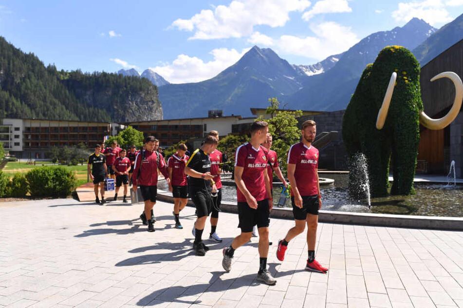 Bis zum 12. Juli bleibt Dynamo in Österreich.