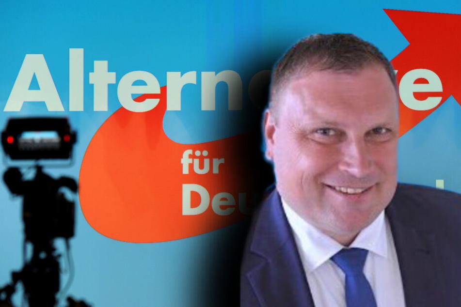 René Jentzsch (AfD) hat sich mit seiner Rechnung viel Spott eingehandelt, mittlerweile ist er zurückgerudert. (Bildmontage)