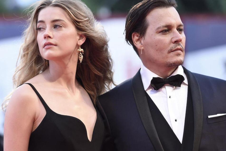 Amber Heard und Johnny Depp waren ein Jahr verheiratet.