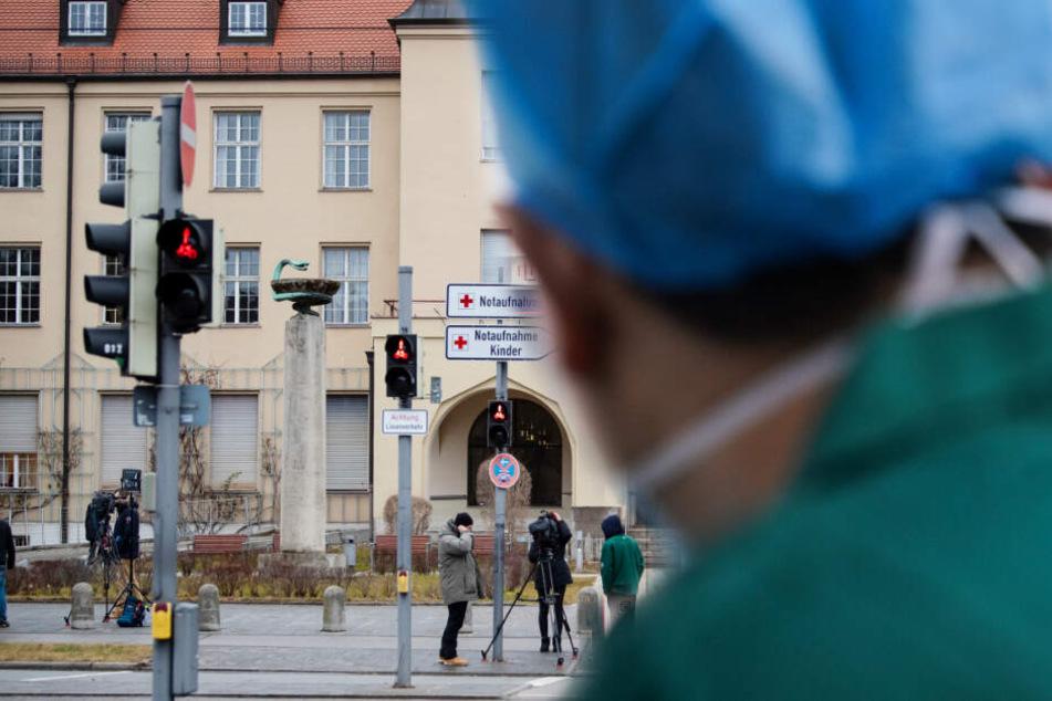 Im Klinikum München Schwabing sind bayrische Coronavirus-Patienten untergebracht.