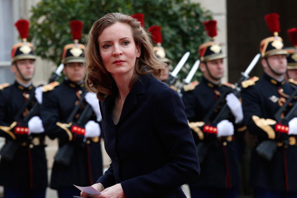 Die Ex-Ministerin Nathalie Kosciusko-Morizet wurde bei einer Wahlveranstaltung angegriffen.