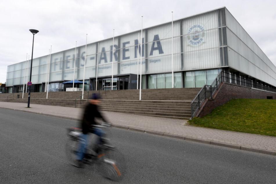 In der Flens-Arena in Flensburg darf Frei.Wild nicht auftreten.