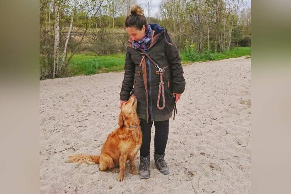 Sorgt sich um die Tiere im Tierheim Leipzig: Tierarzthelferin Sarah K.