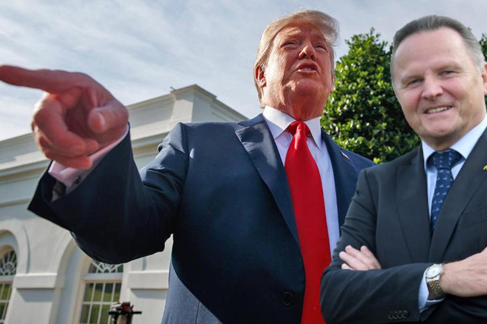 AfD-Vize Georg Pazderski (66) glaubt, US-Präsident Trump sei besser über die deutschen Kriminalitätszahlen informiert als die Bundesregierung.