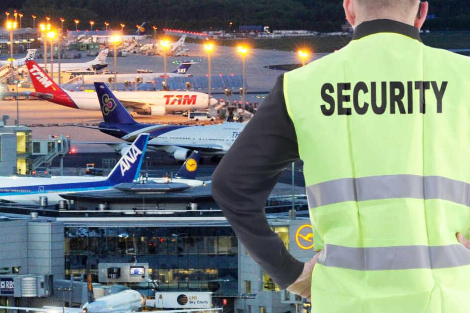 Flugzeug-Zusammenstoß auf dem Flughafen Frankfurt