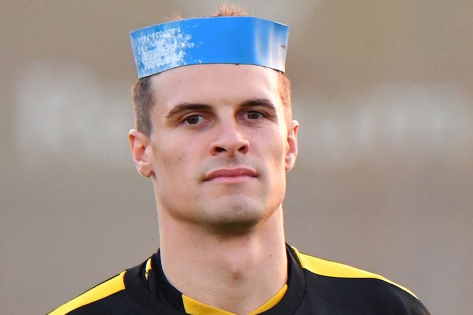 Philip Heise hat bei Dynamo nicht mehr den Hut auf. Nachdem ihn sein Trainer aus dem Mannschaftsrat nahm, droht nun eine Rückserie auf der Ersatzbank.