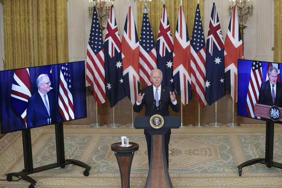 Biden announces new trilateral security partnership with Australia and Britain