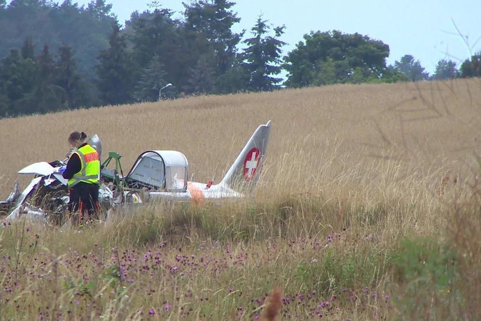 In diesem Wrack starb der 57 Jahre alte Pilot.
