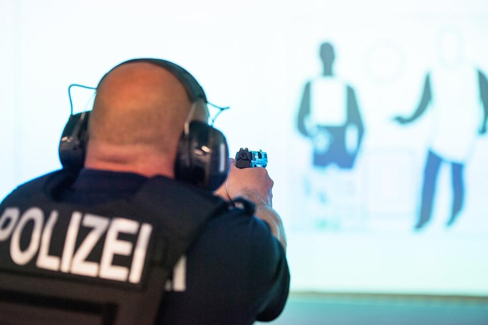 Über 480 Polizeischüler befinden sich in der Polizeifachschule Schneeberg aktuell in der Ausbildung.
