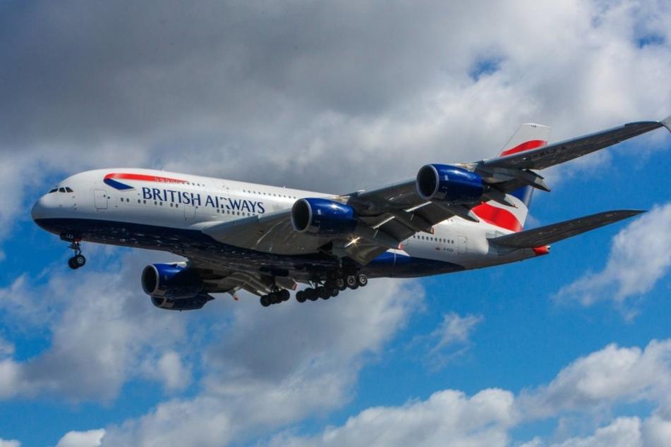 Rund 40 Minuten nach dem Start traten die Probleme bei der Besatzung des A380 auf.