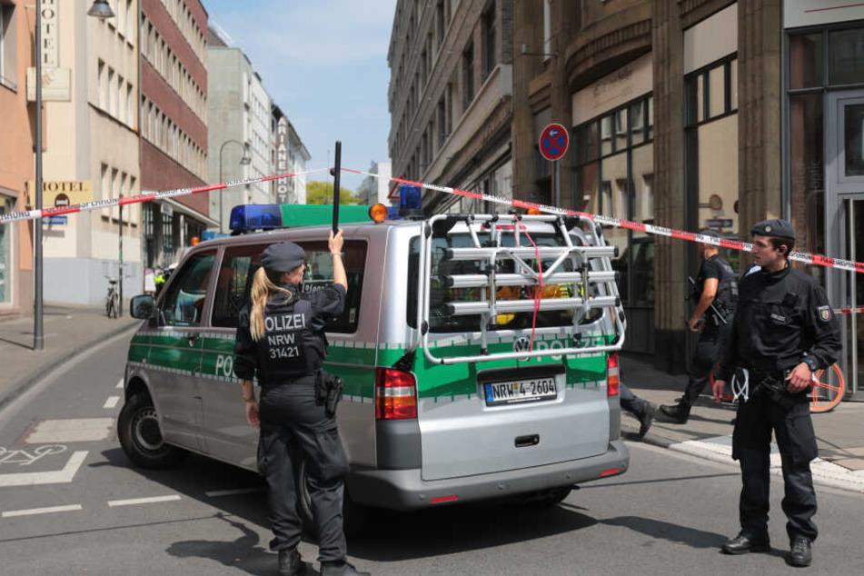 Die Polizei hatte Wohnungen mutmaßlicher Gefährder aus dem islamistischen Umfeld durchsucht.