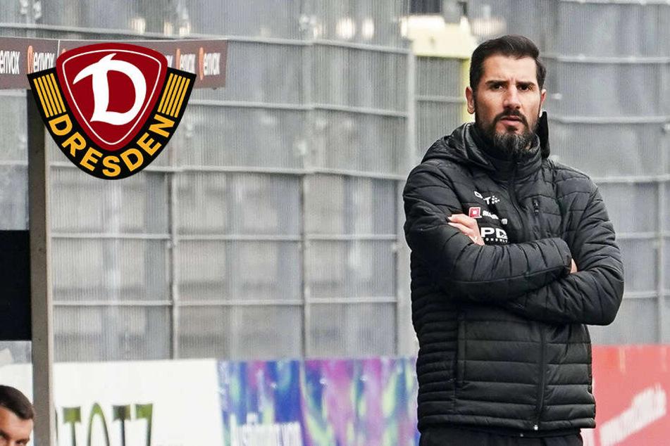 """Erste Dynamo-Pleite unter Fiel: """"Muss das alles erstmal sacken lassen"""""""