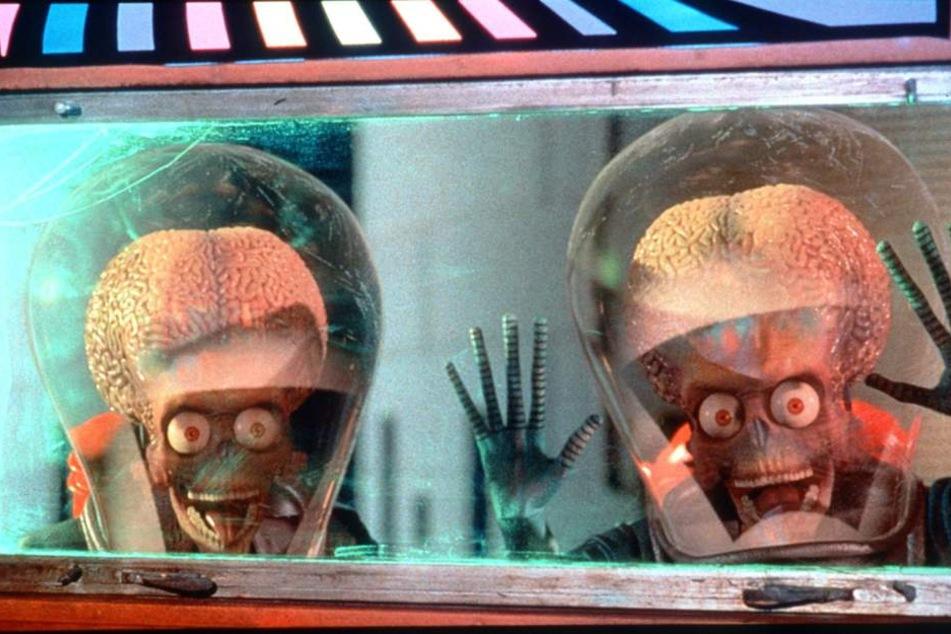 """Sollte eine Invasion der Aliens wie im Film """"Mars Attacks!"""" stattfinden? Laut Charles Fogus sind definitiv Aliens in Roswell abgestürzt."""