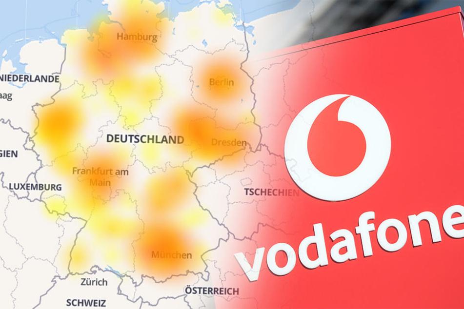 Telefon und Internet tot: Deutschlandweite Mega-Störung bei Vodafone