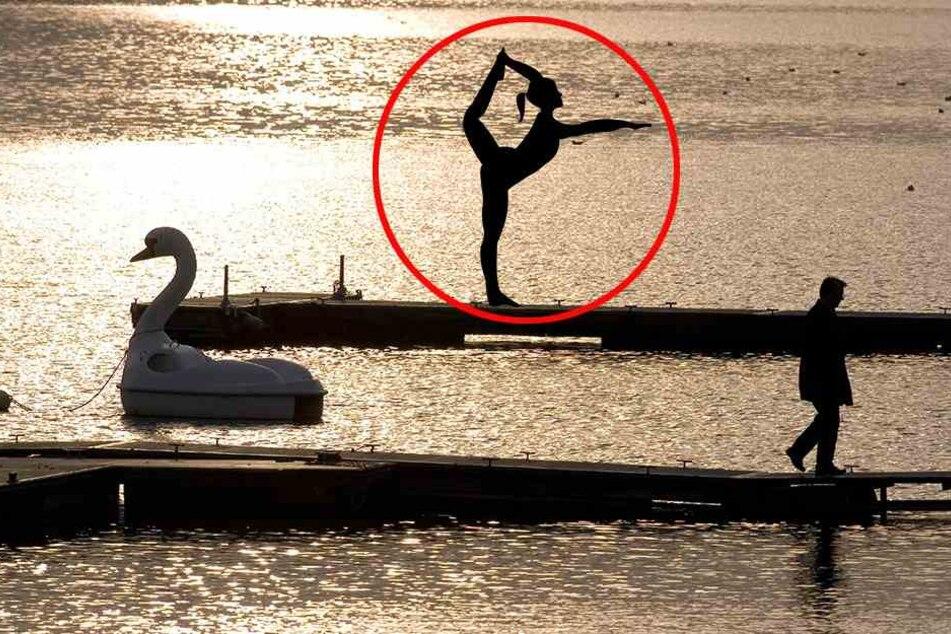 Für Yoga im Freien braucht man in Münster bald eine Genehmigung. (Symbolbild)