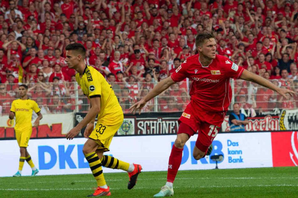 Der Mann des Abends: Marius Bülter erzielte einen Doppelpack.