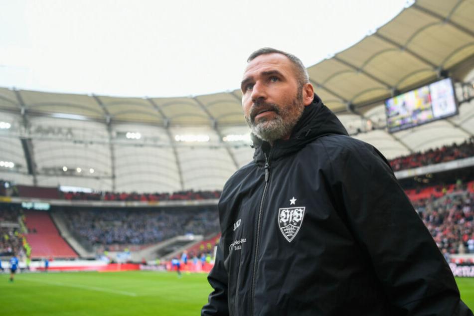 Tim Walter wurde kurz vor Weihnachten beim VfB entlassen.