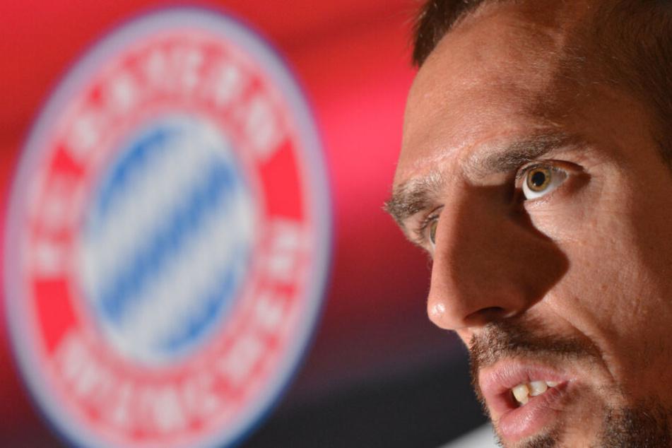 Franck Ribery tat Uli Hoeneß leid.
