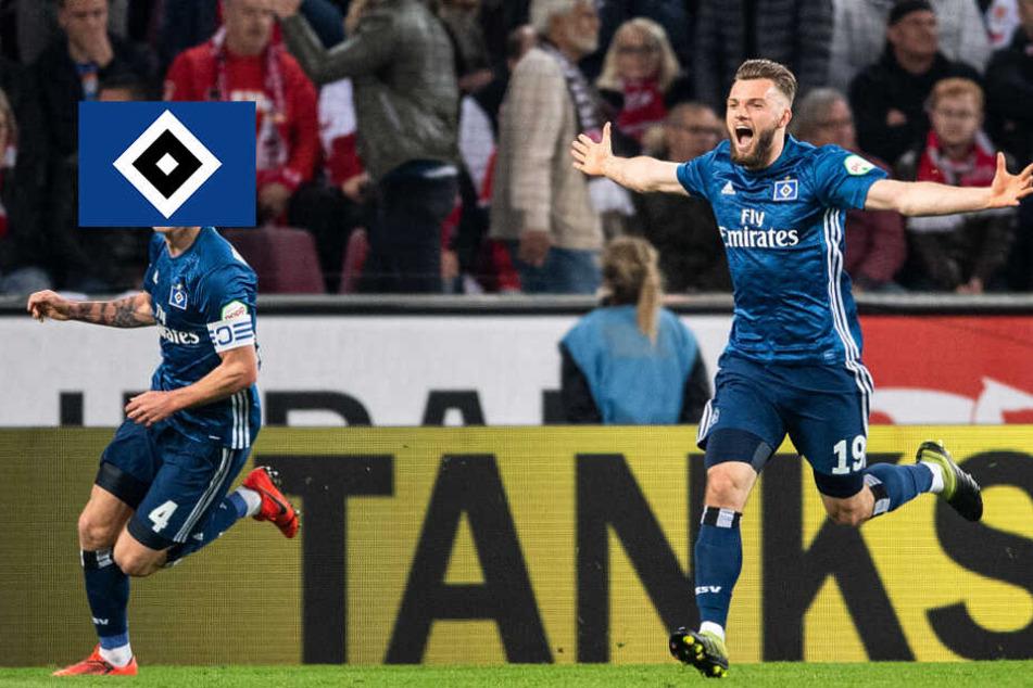 HSV zeigt Moral! Joker Wintzheimer rettet einen Zähler im Spitzenspiel